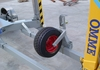 Holder for nose wheel